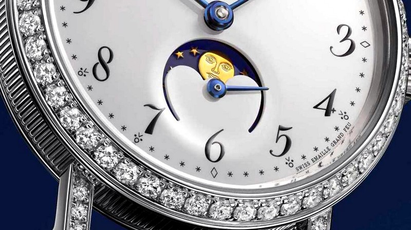 Pre-Baselworld 2016 -  Breguet's chic reinvented with Classique Phase de Lune Dame watch -2luxury2 dot com-