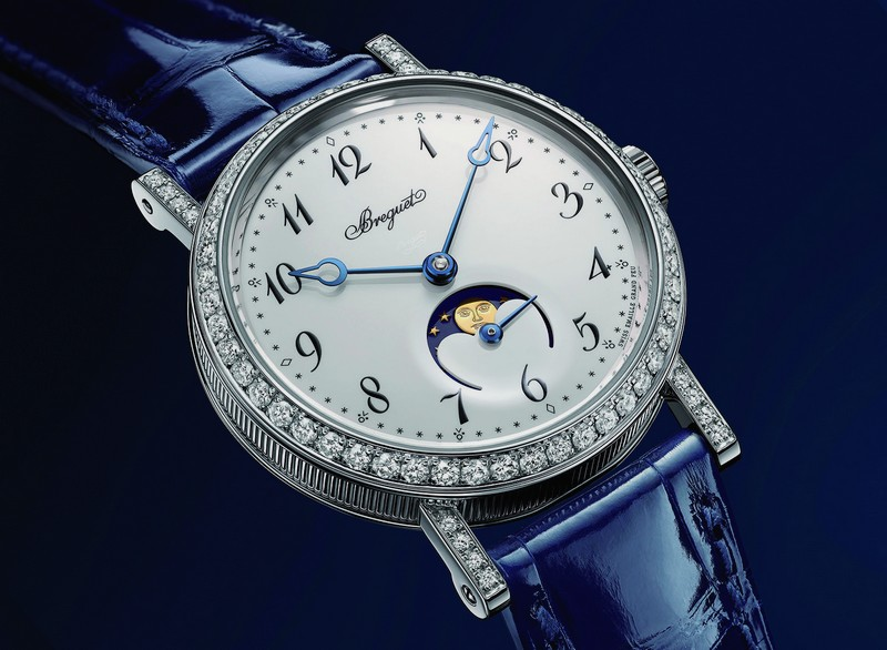 Pre-Baselworld 2016 -  Breguet's chic reinvented with Classique Phase de Lune Dame watch -2luxury2 dot com