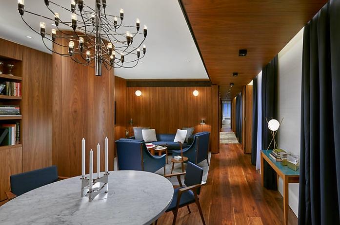 Premier Suite Bedroom Mandarin Oriental Milan- Gio Ponti Tribute