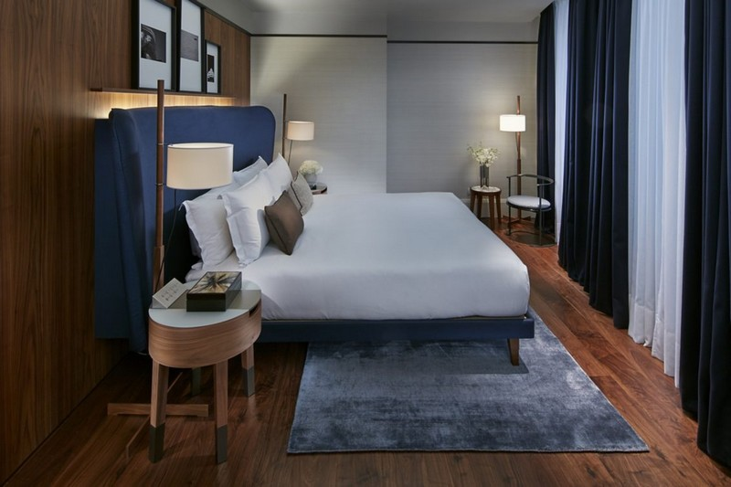 Premier Suite Bedroom Mandarin Oriental Milan
