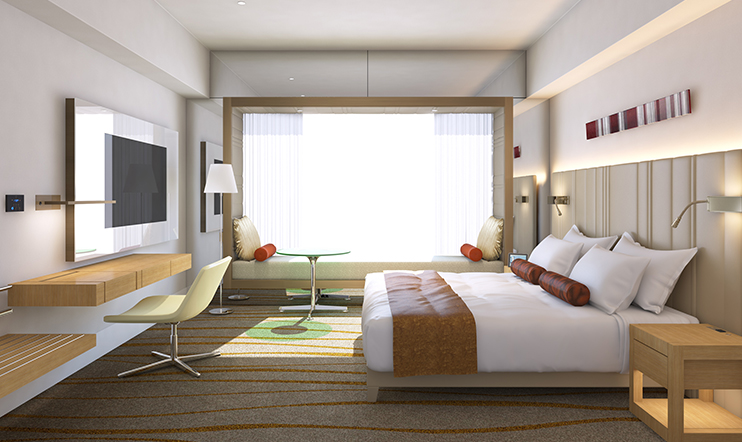 Prince Gallery Tokyo Kioicho A luxury collection hotel 2016 opening-2luxury2- king room
