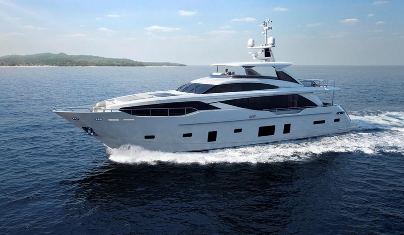 Princess Yachts 30M yacht--