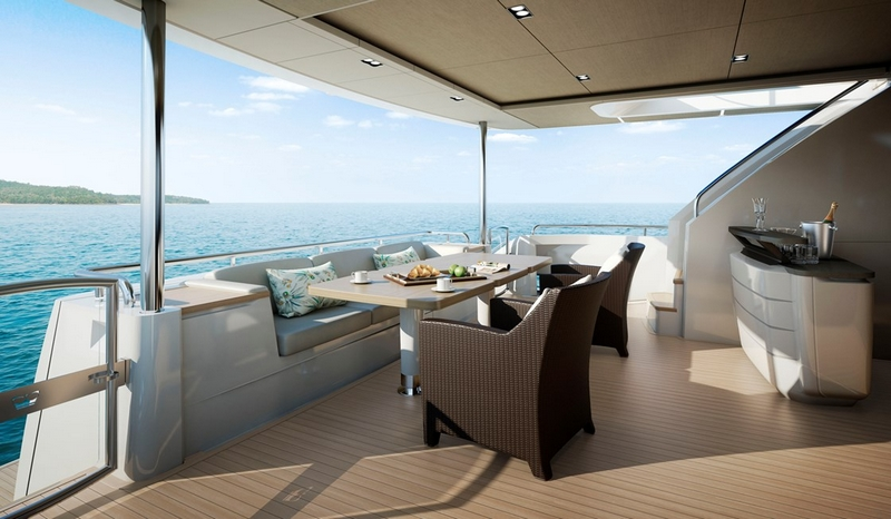 Princess Yachts 30M yacht