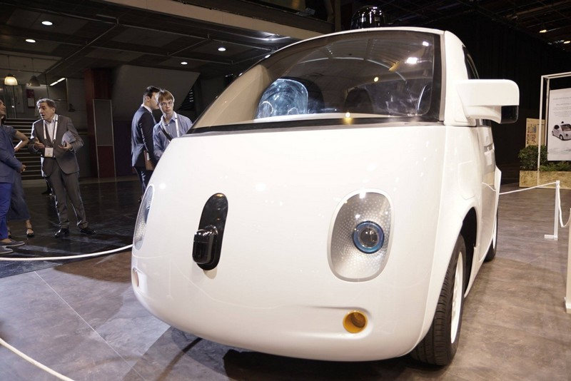 Prototype of the Google Self-Driving Car Project - vivatech 2016 - 2luxury2