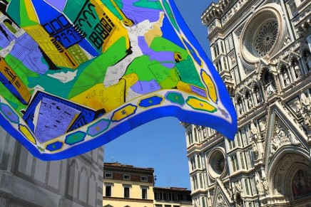 Postcard from Florence: A Pucci scarf to help restore the stunning Battistero in Florence