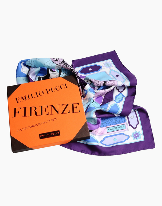Pucci City of the World scarves-Firenze-