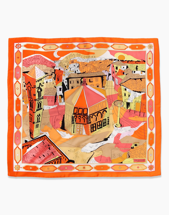 Pucci City of the World scarves-Firenze