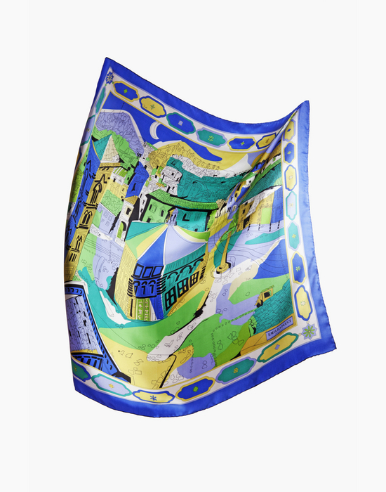 Pucci SOS Battistero - A Pucci scarf to help restore the stunning Battistero in Florence--