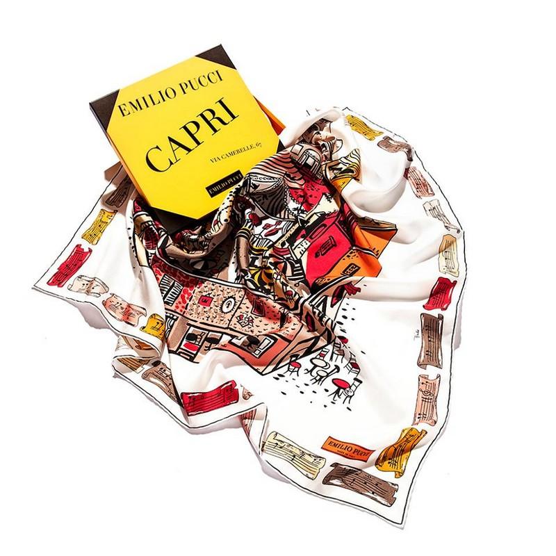 Pucci scarves 2016 - Pucci Capri scarf