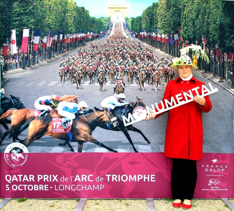 Qatar Prix de L'Arc de Triomphe Longchamp Paris France