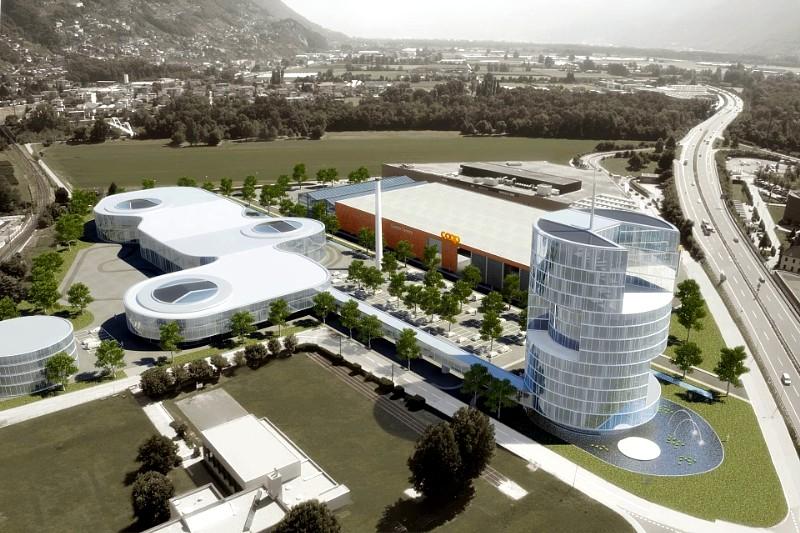 Quant City Switzerland - Quant E nanoflowcell technology car