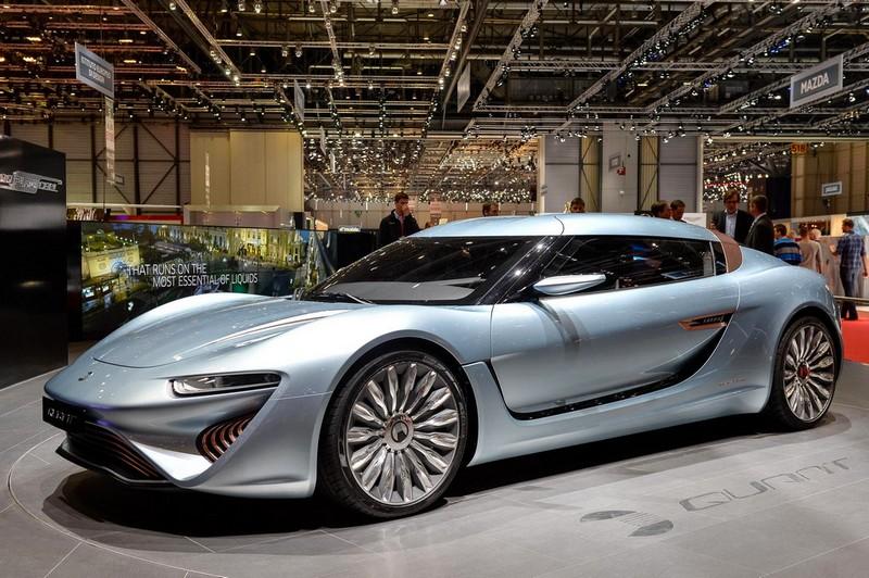 Quant E nanoflowcell technology car-