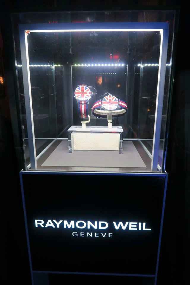 RAYMOND WEIL is also the Official Timing Partner of the BRIT Awards-
