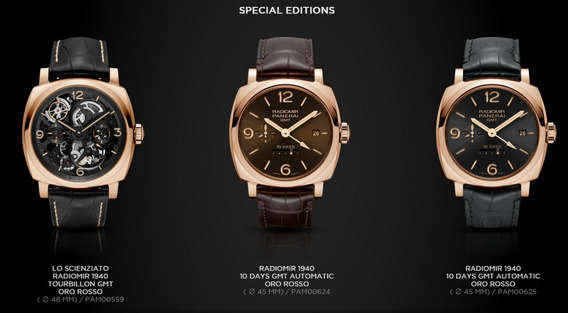 Radiomir 1940 Collection  - special editions