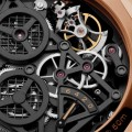 Radiomir 1940 Panerai - the Radiomir 1940 Tourbillon GMT Oro Rosso - 48mm PAM00559- mechanism