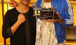 Ramesh Nair and Pharrell Williams for Moynat