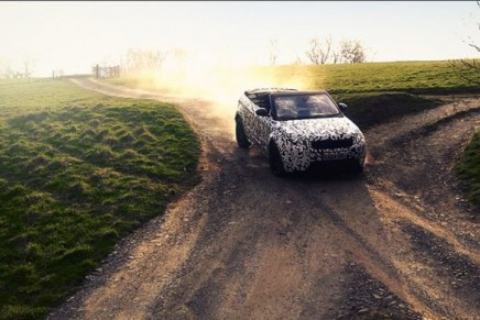 The world's first luxury compact SUV convertible showcasing its all-terrain credentials – video