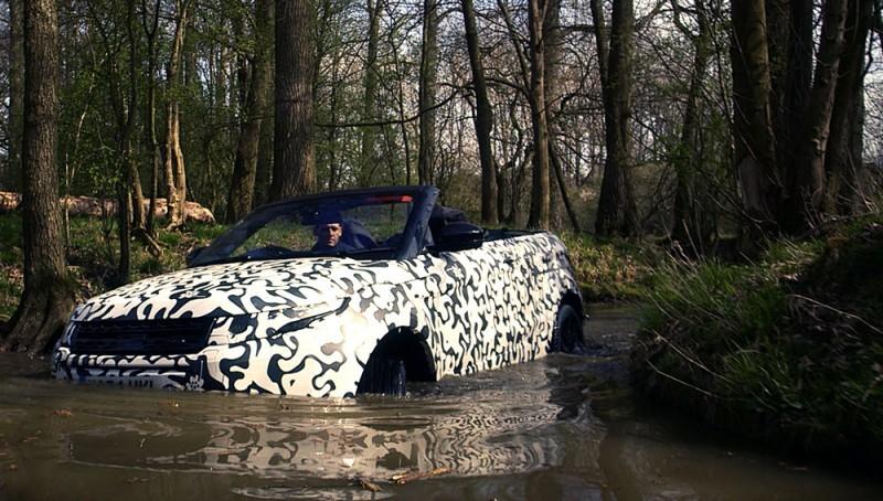 Range Rover Evoque Convertible--
