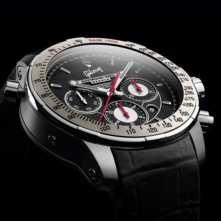 Raymond Weil Nabucco Limited Edition in Partnership with Gibson timepiece