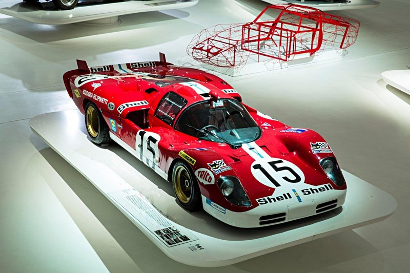 Red Carpet exhibition 2016 - Ferrari homage to Hollywood and beyond