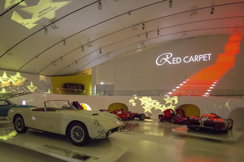Red Carpet exhibition 2016 - Ferrari homage to Hollywood