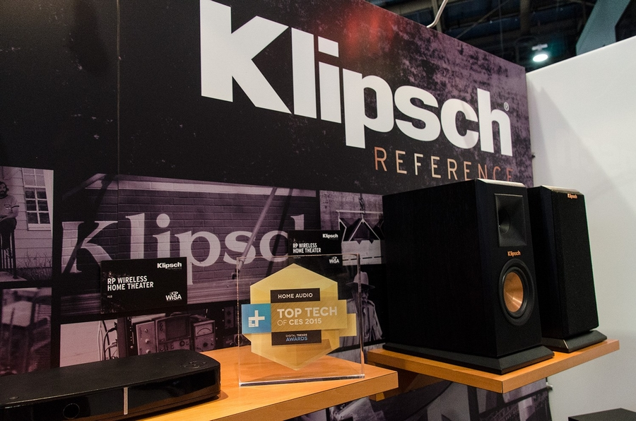 Reference Premiere Wireless 5.1 home theater system won a Digital Trends Top Tech of CES 2015 award-2