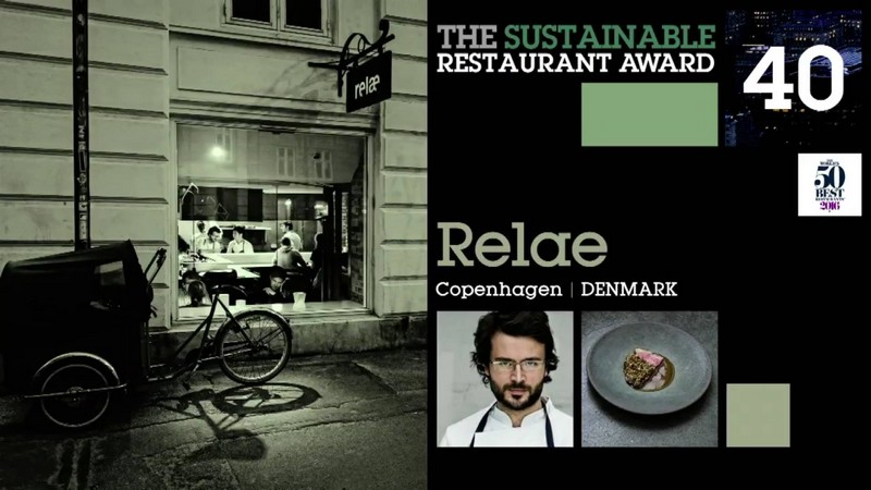 Relae in Copenhagen is winning the Sustainable Restaurant Award for the second year in a row-
