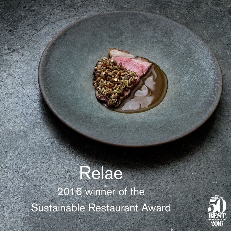 Relae in Copenhagen is winning the Sustainable Restaurant Award for the second year in a row