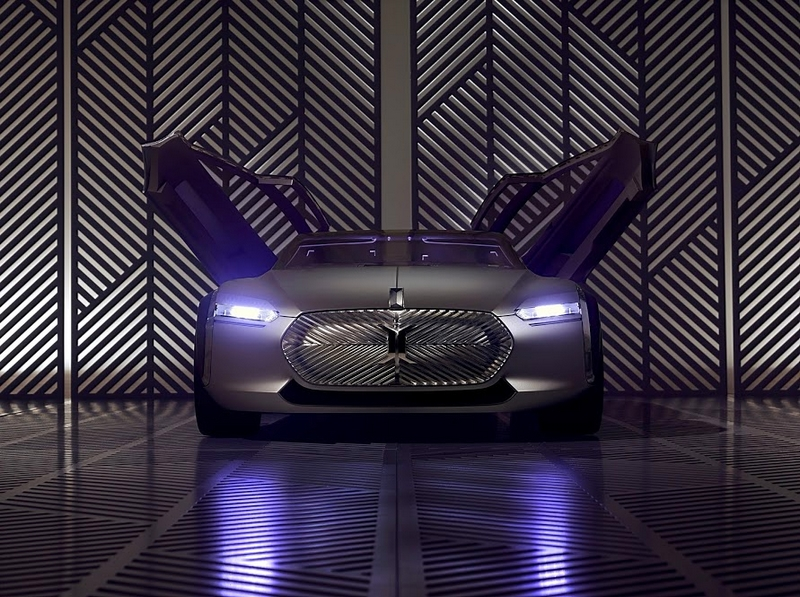 Renault Coupe Corbusier concept car-doors open