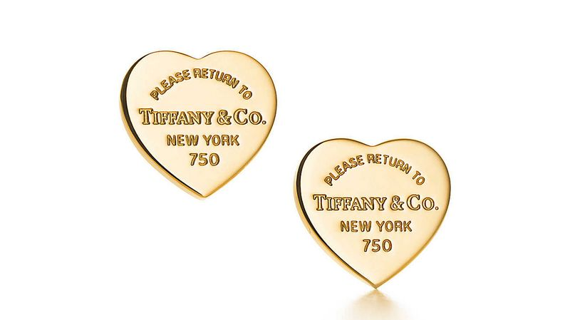Return to Tiffany Love collection 2016-elegant studs