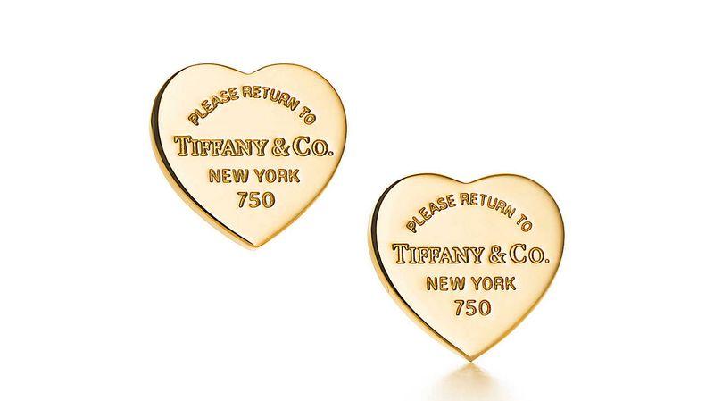 Return to Tiffany Love collection 2016-elegant studs