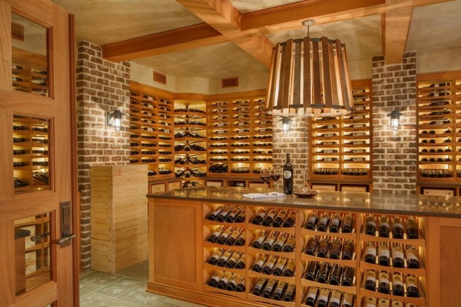 A 'statement' cellar that would do justice to a prized 3,000 bottle wine collection
