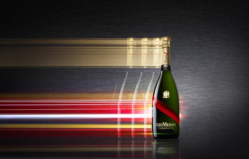 Revolutionary bottle  - Formula E Mumm Grand Cordon 2luxury2