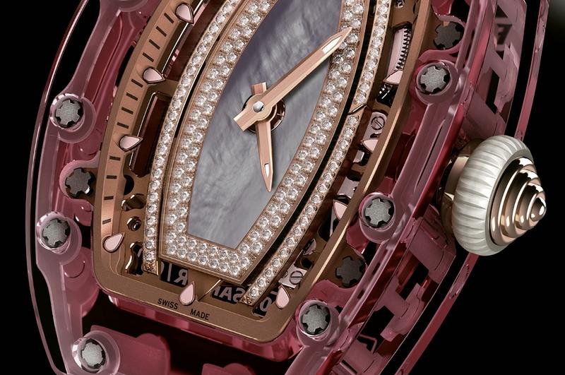 Richard Mille RM 07-02 Pink Sapphire-watch 2016