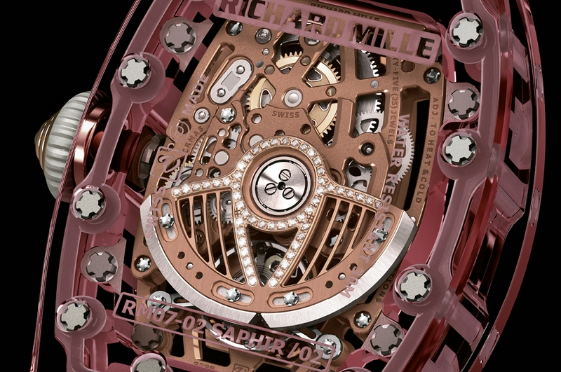 Richard Mille RM 07-02 Pink Sapphire-watch