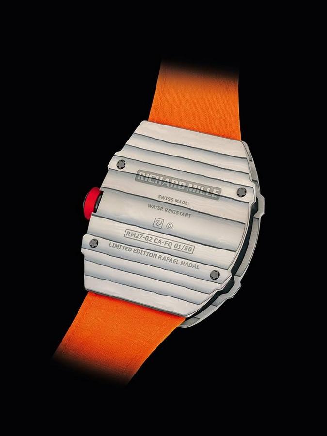 Richard Mille Tourbillon RM 27-02 Rafa Nadal--watch