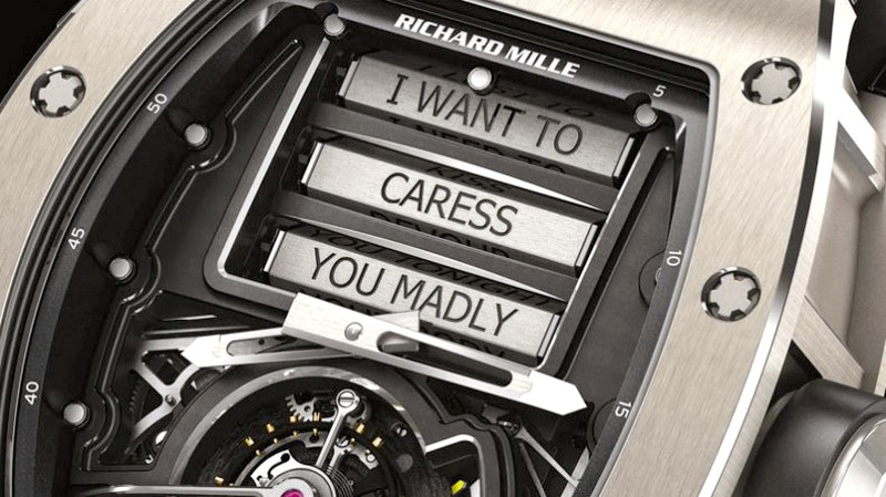 RichardMille RM 69 Erotic Tourbillon