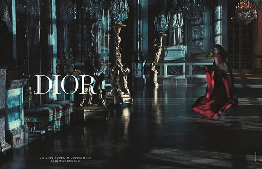 Rihanna in Christian Dior's Secret Garden