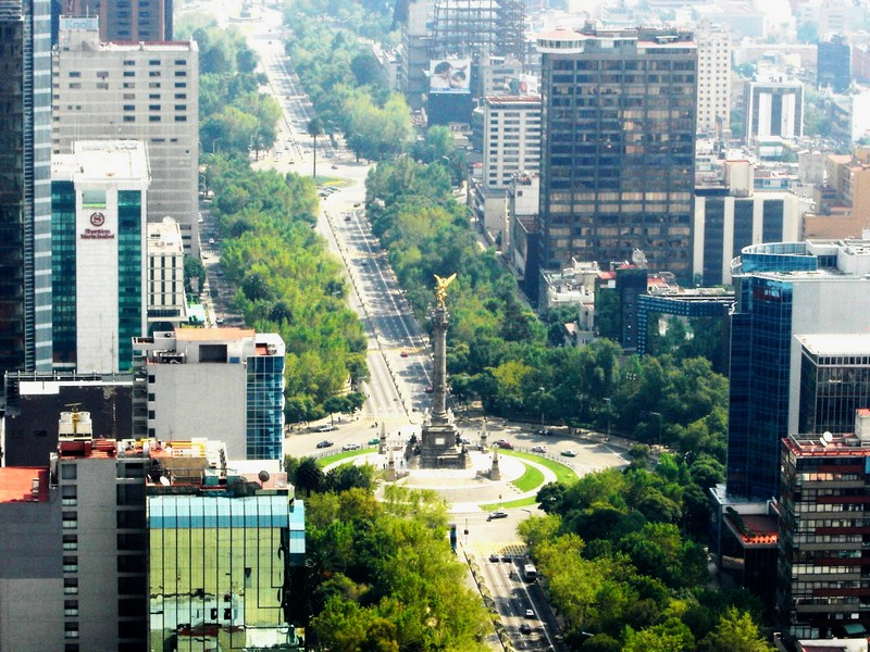 Ritz-Carlton Mexico City - The Angel of Independence - Paseodela Reforma