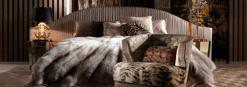 Roberto Cavalli Home Interiors at Salone del Mobile ---