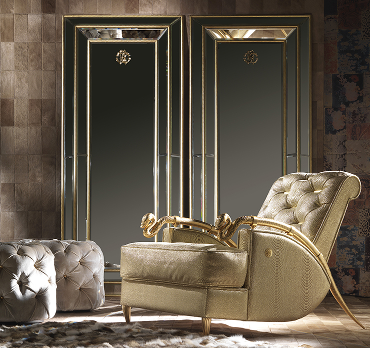 Roberto Cavalli Home Interiors at Salone del Mobile 2016-casa -