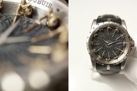 Roger Dubuis' contemporary take on the legend of the Round Table