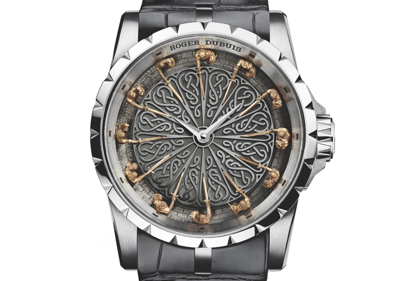 Roger Dubuis Excalibur Knights of the Round Table II watch 2015 model - front