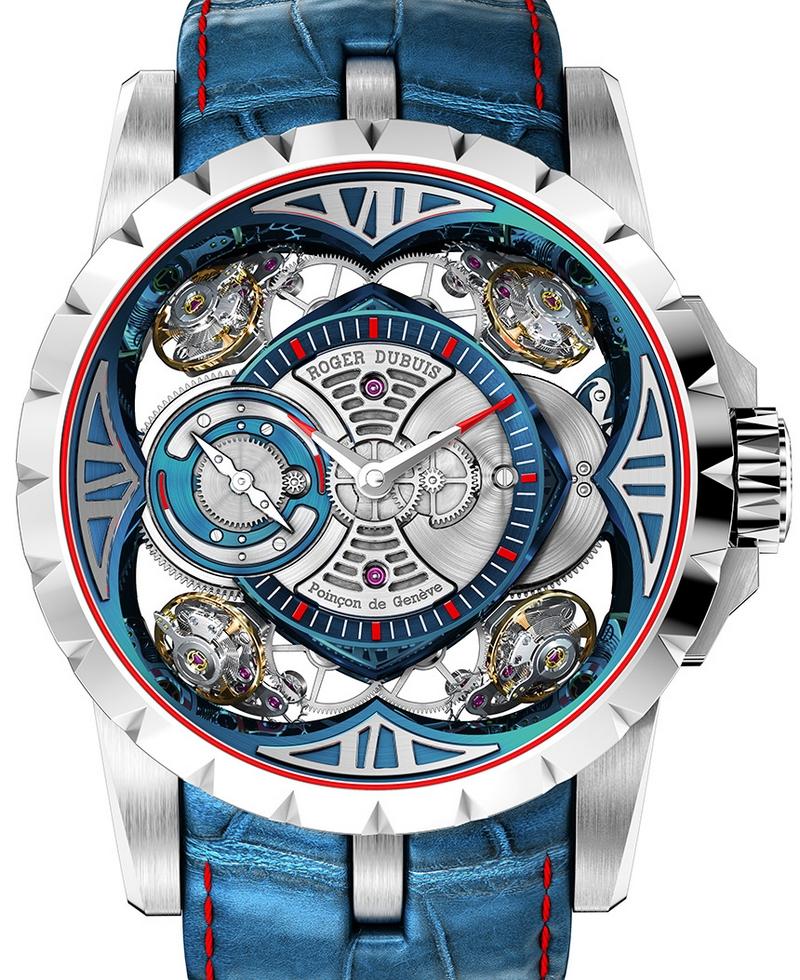 Roger Dubuis Excalibur Quatuor Cobalt MicroMelt Watch