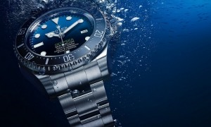 Rolex Deepsea with a D-blue dial watch 2014 - James Cameron tribute