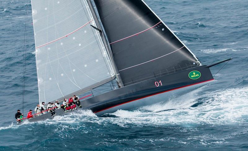 Rolex Sydney Hobart 2014 race--