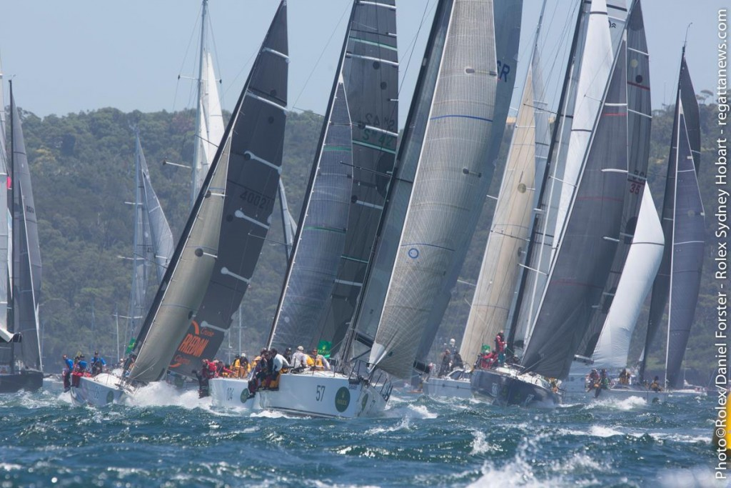 Rolex Sydney Hobart 2014 race photos