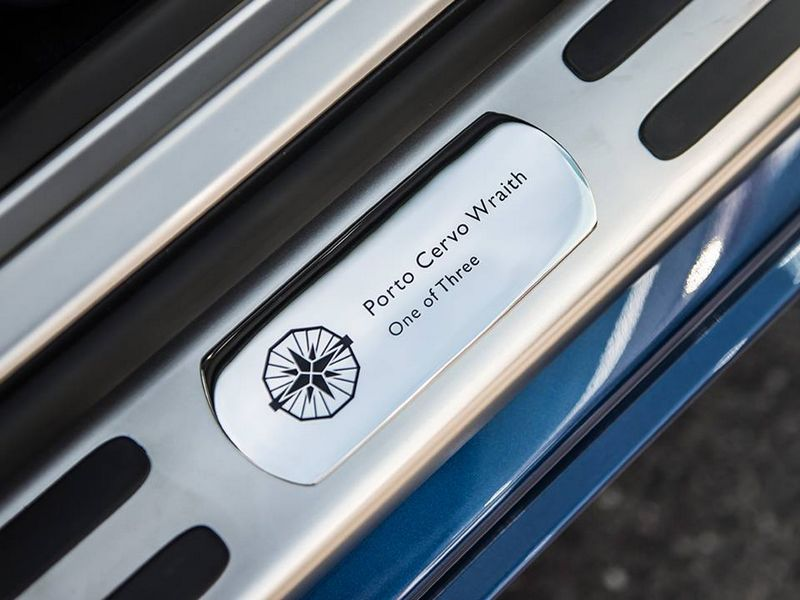 Rolls Royce Porto Cervo Wraith inspired by Porto Cervo - One of three - Ultra limited Edition