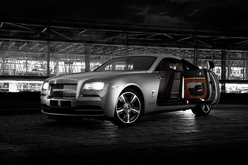 Rolls-Royce Wraith Inspired by Film Limited Edition-G
