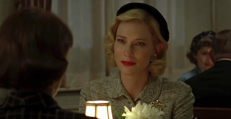 Rooney Mara and Cate Blanchett carol trailer - 2016 globes nominations